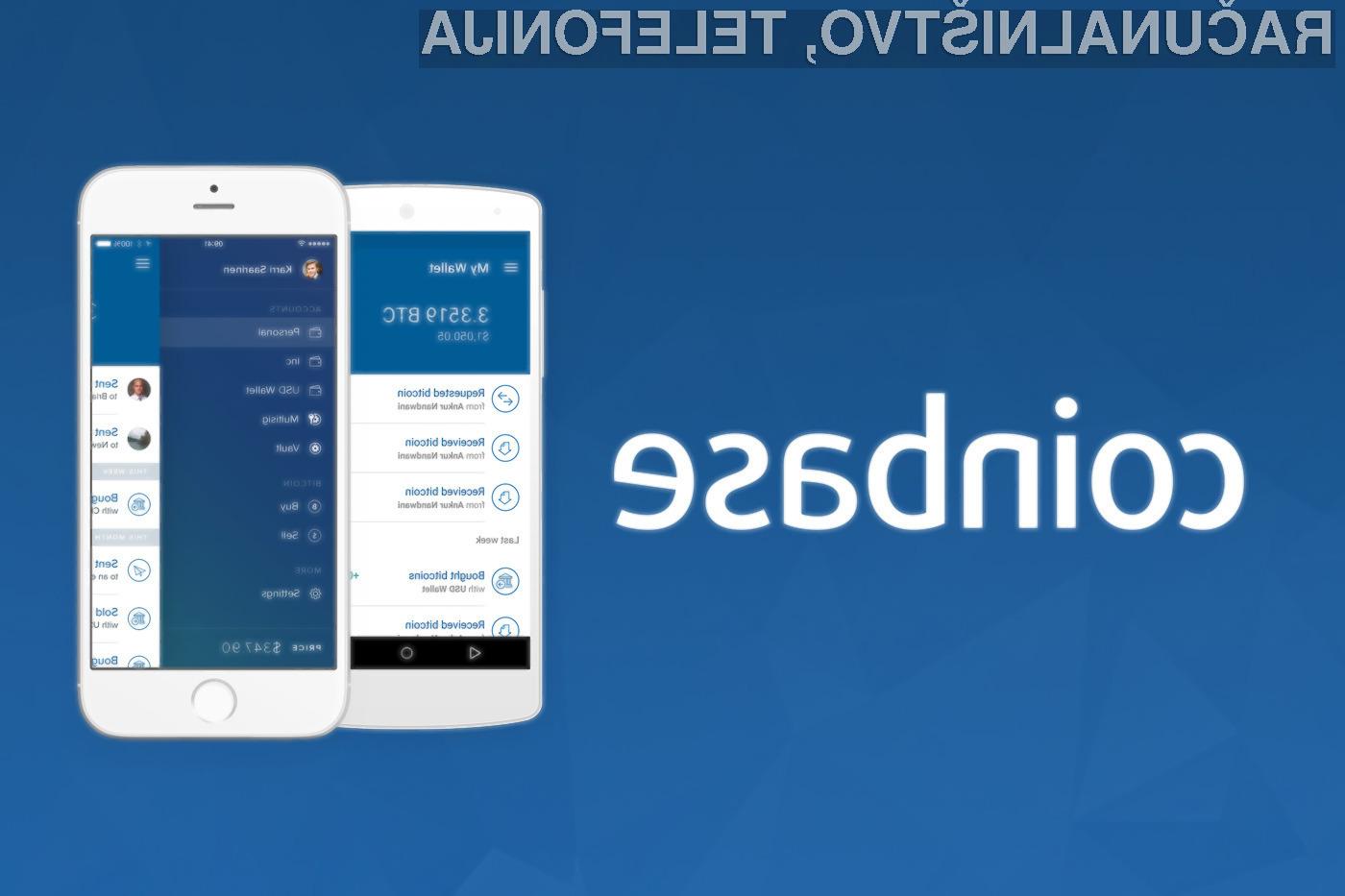 Coinbase ponuja instanten prenos sredstev na PayPal račun