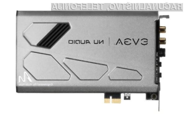 Zvočna kartica EVGA Nu Audio je namenjena najzahtevnejšim uporabnikom.