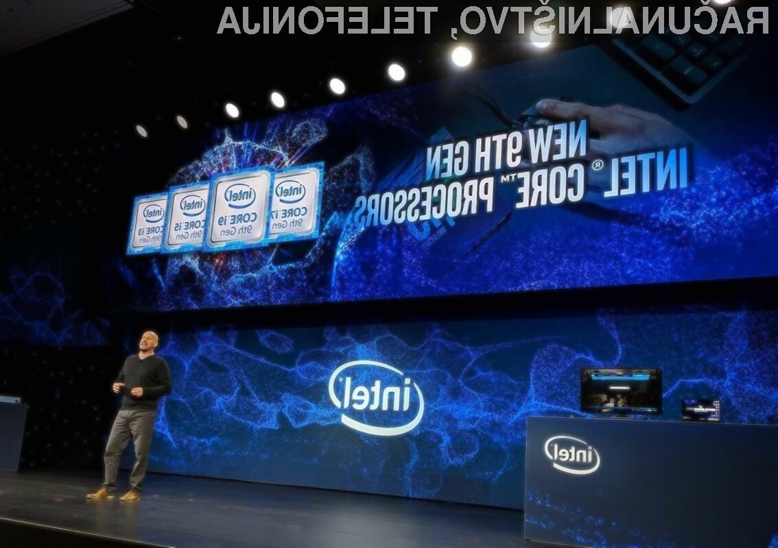 Kupcem bosta v drugi polovici na voljo dva nova procesorja Intel, in sicer Core i5-9400 in Core i5-9400F.