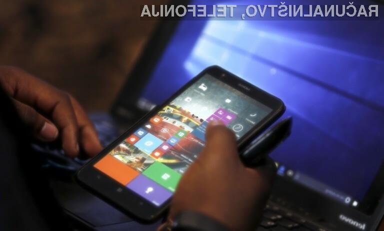 Odpisani Windows 10 Mobile ima štete ure!
