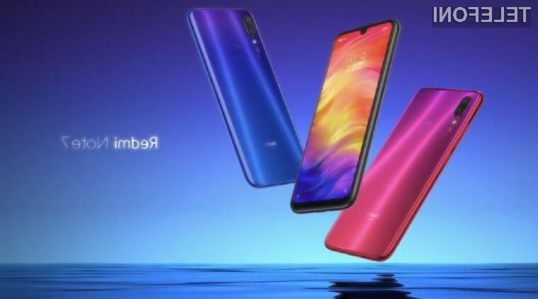 Xiaomi Redmi Note 7 je poceni, a odličen za zajem kakovostnih fotografij.