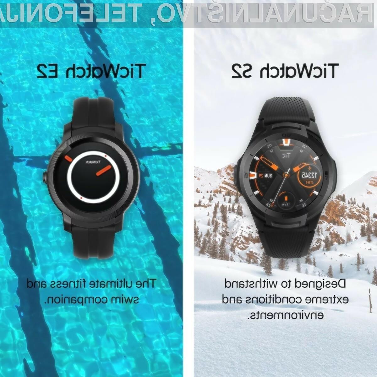 Tako pametna ročna ura Ticwatch E2 kot Ticwatch S2 bosta na voljo tudi na evropskem trgu. Njihova maloprodajna cena pa bo nekoliko višja kot na ameriškem trgu, saj se bo gibala okoli 200 evrov.