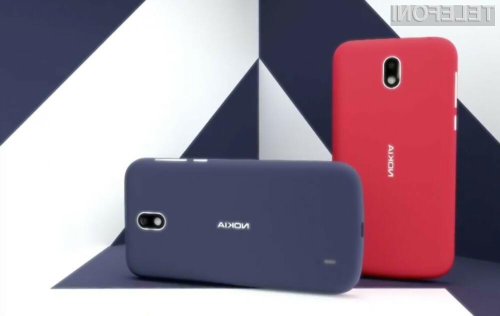 Pametni mobilni telefon Nokia 1 Plus bo pisan na kožo predvsem manj zahtevnim uporabnikom.