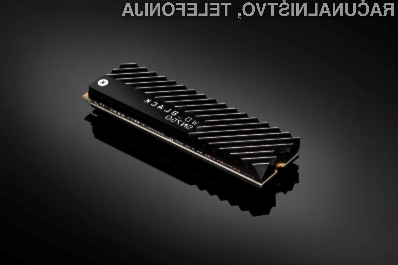 Pogon Western Digital Black SN750 je dovolj zmogljiv tudi za vsebine ločljivosti 4K!