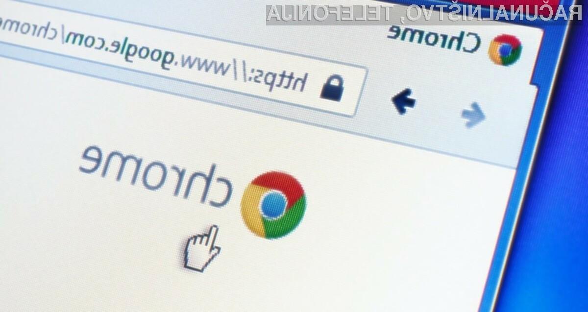 Spletni brskalnik Google Chrome bo kmalu postal še bolj varen za brskanje po svetovnem spletu.