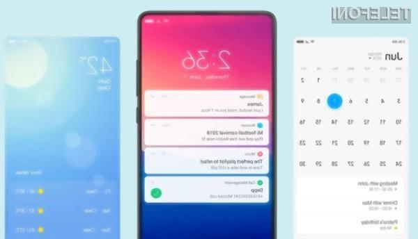 Novi grafični vmesnik Xiaomi MIUI 11 obeta veliko izboljšav.