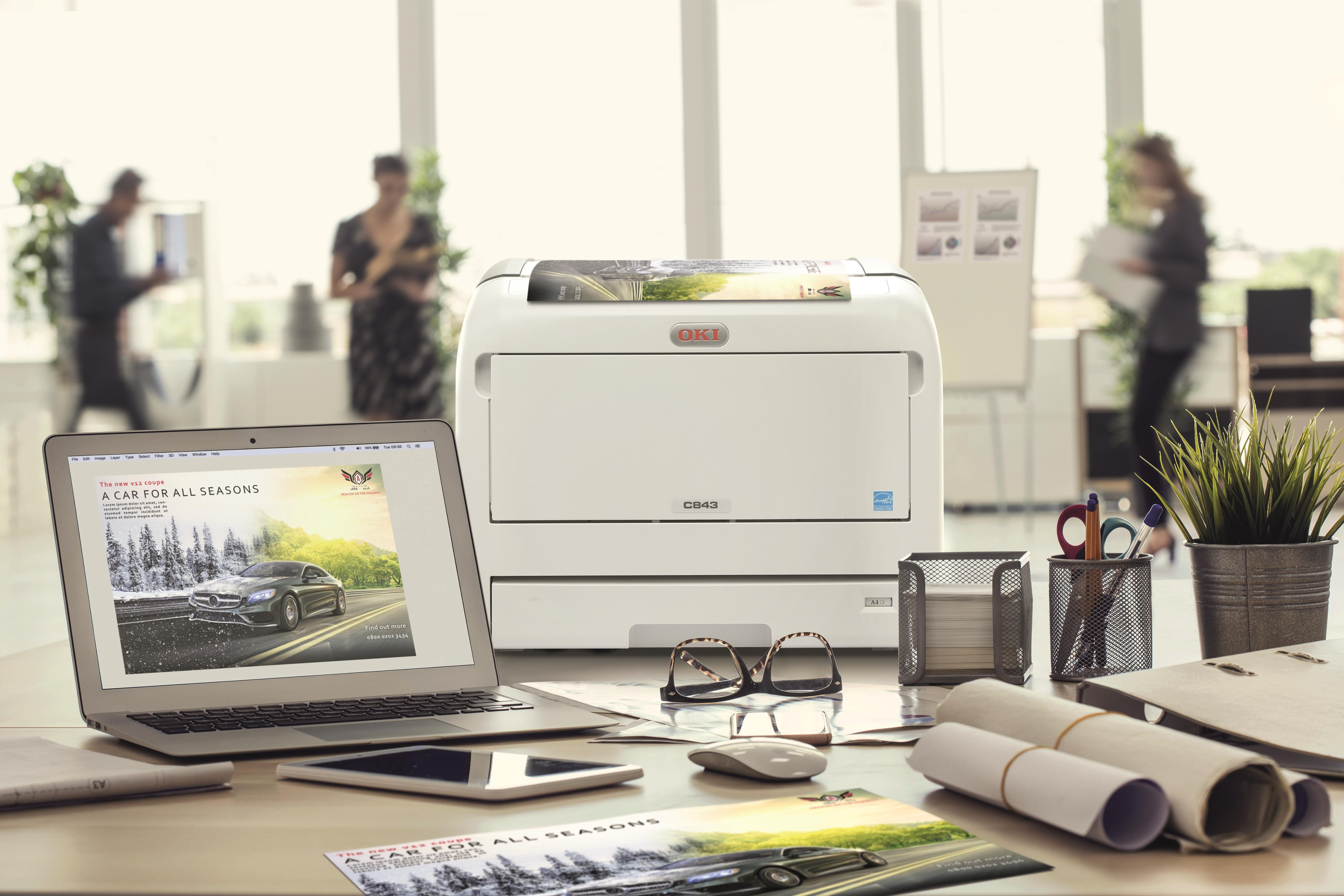 Oki z najboljšimi tiskalniki za tisk promocijskih materialov