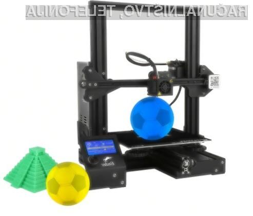3D printer na voljo že za dobrih 150 evrov!