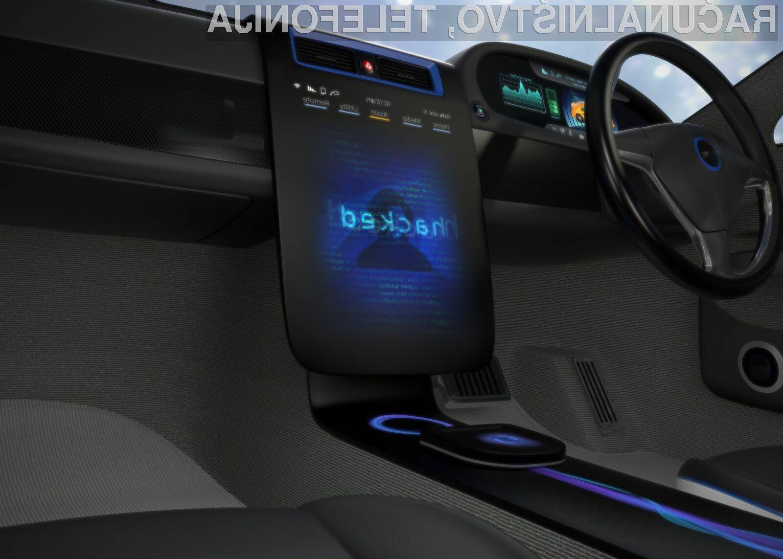 Sodobni avtomobili so vse prej kot varni pred hekerskimi napadi.