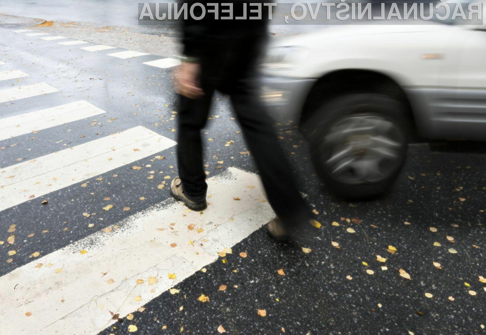 Nova avtomobilska tehnologija bi lahko preprečila do 65 odstotkov prometnih nesreč, kjer so udeleženi pešci.