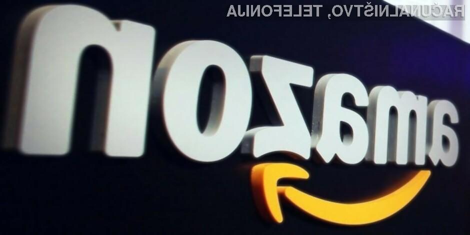 Tudi podjetje Amazon bi lahko zaradi oviranja konkurence doletela več milijardna denarna kazen.