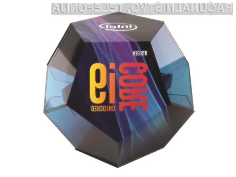 Procesorji Intel devete generacije bodo znatno pospešili delovanje prenosnih računalnikov.