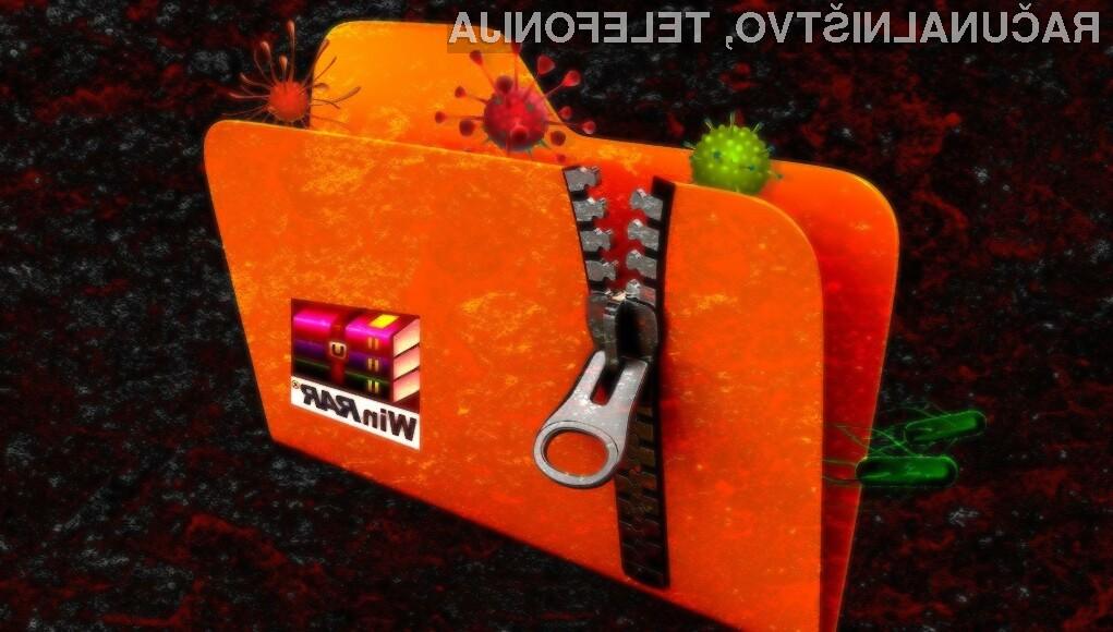 Varnostni strokovnjaki so resno varnostno ranljivost v programu WinRAR odkrili šele po 19 letih.