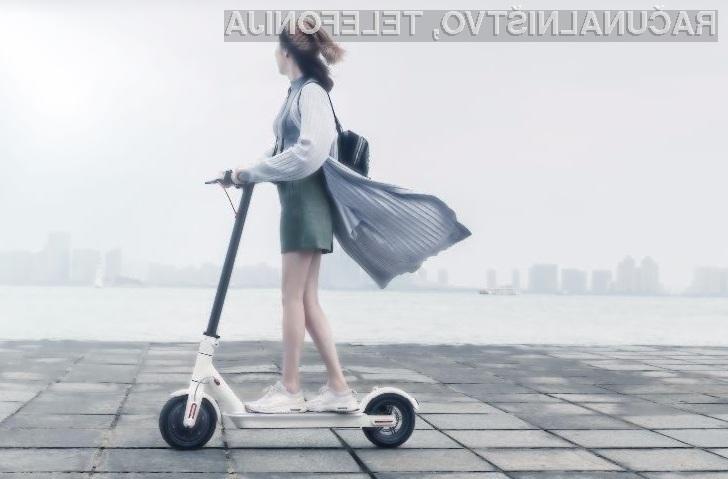 Podjetje Grover za izposojo električnih skuterjev Xiaomi M365 zahteva slabih 50 evrov mesečno.