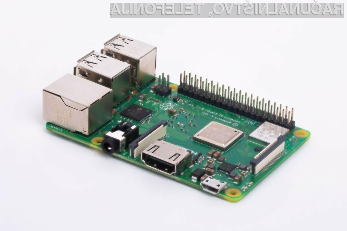 Kompaktni Raspberry Pi 4 bo na prodajne police prispel šele v začetku naslednjega leta.