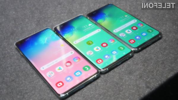 Pametni mobilni telefoni Samsung Galaxy S10 prinašajo kar nekaj uporabnih novosti.