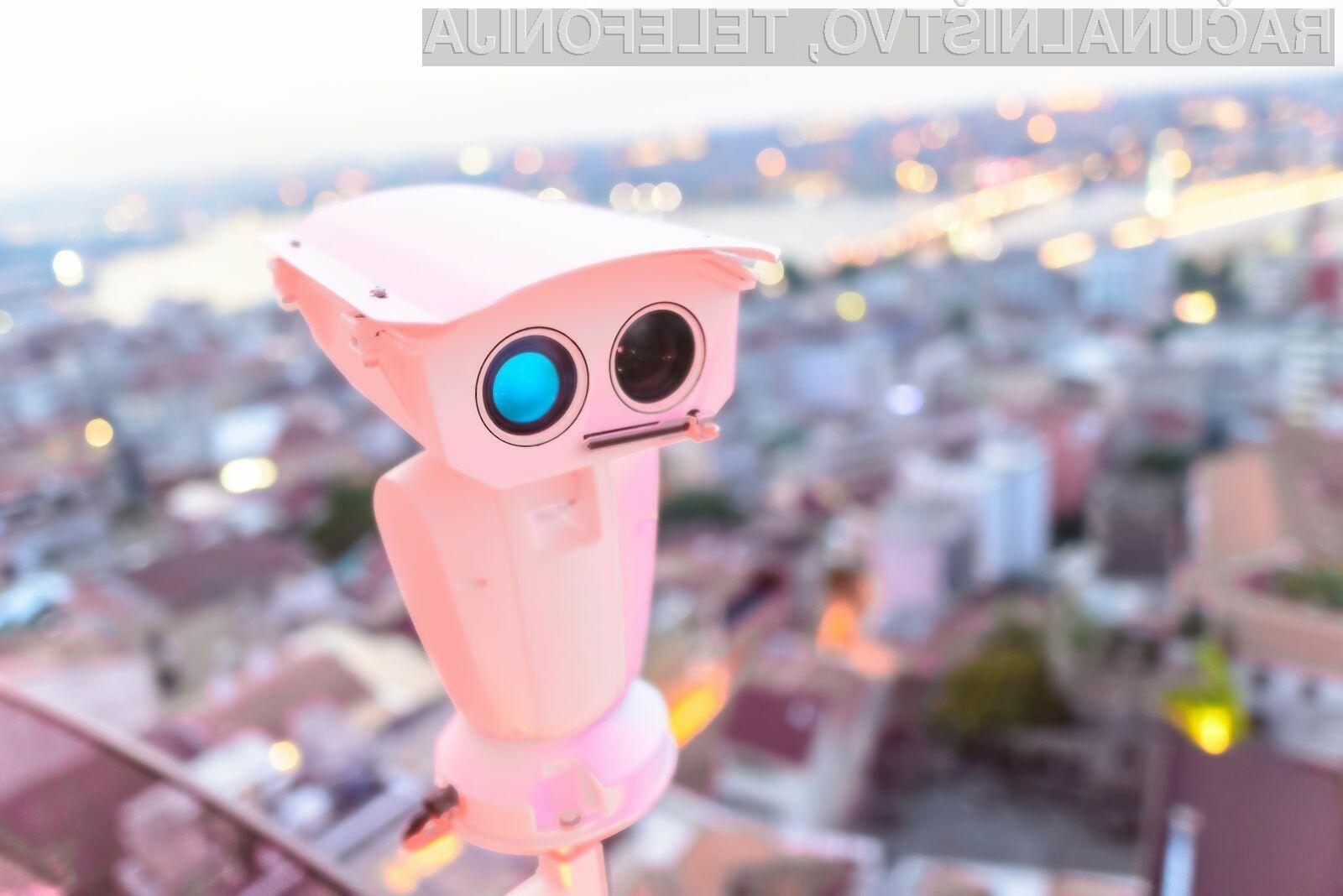 Število pametnih nadzornih kamer s tehnologijo prepoznavanja obrazov se bo v prihodnih letih zagotovo znatno povečalo.