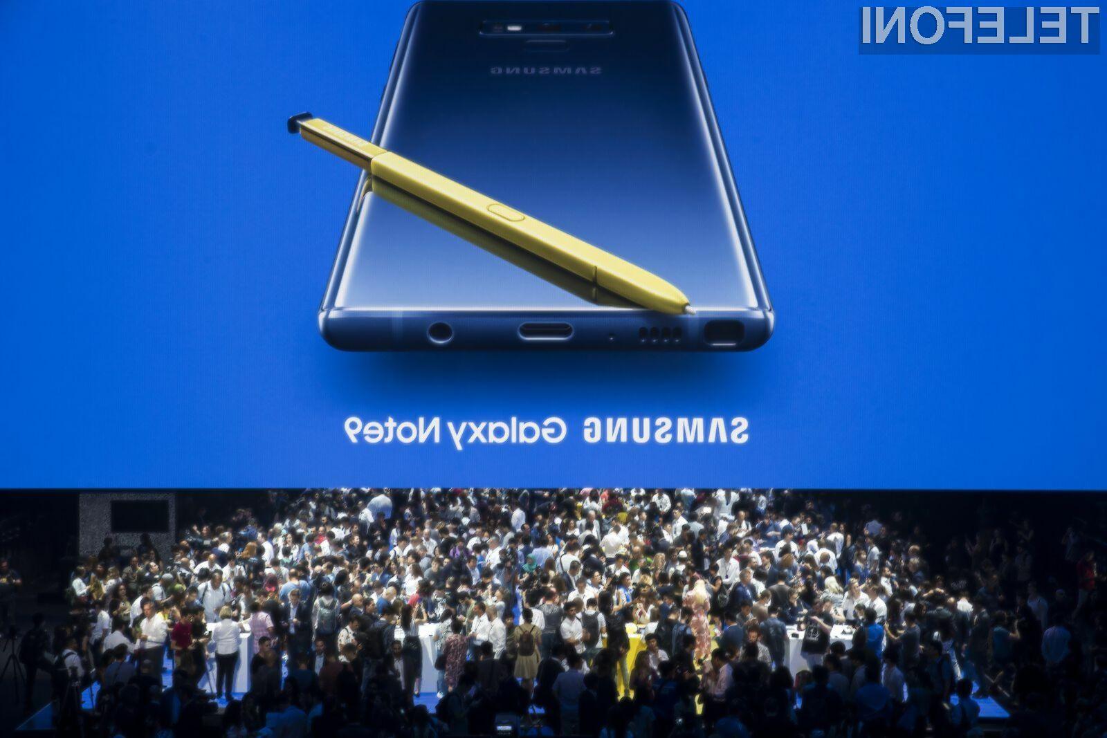 Priljubljeni Galaxy Note 9 bo kmalu dobil dostojnega naslednika.
