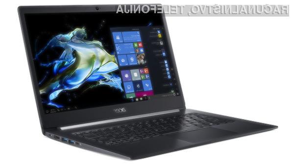 Prenosnik Acer TravelMate X514-51 je kompakten, a zmogljiv in z dolgo avtonomijo delovanja.