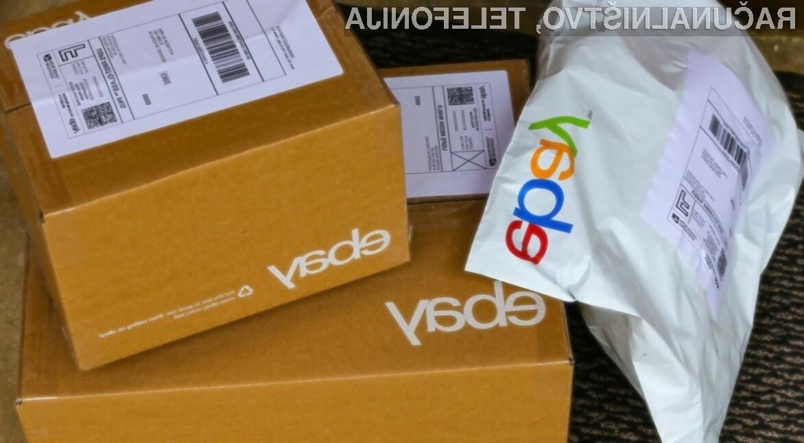 Uporabnikom spletne trgovine eBay bo kmalu na voljo še en plačilni sistem, in sicer Google Pay.