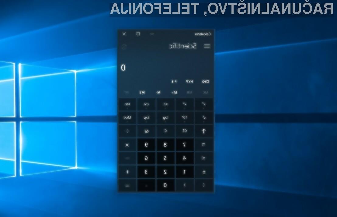 Priljubljeni Windows Calculator bo kmalu bogatejši za funkcijo »Graphing Mode«.