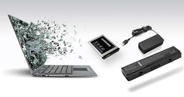 Baterije, adapterji, polnilci, zasloni, rezervni deli,...