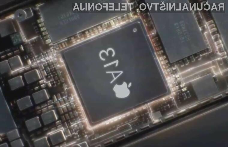 Mobilni procesor Apple A13 naj bi bil tehnološko precej bolj napreden od konkurenčnih rešitev.