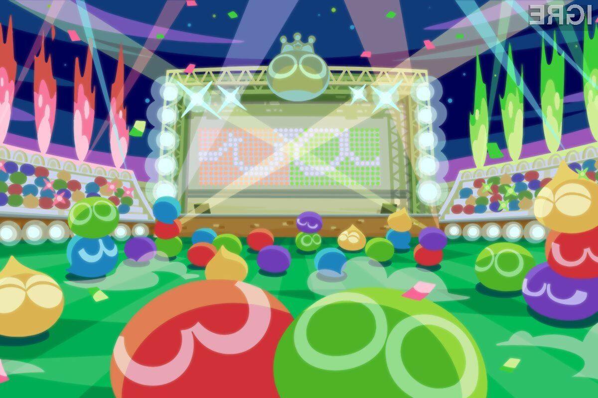 Igra je sicer na Japonskem izšla že lani pod naslovom Puyo Puyo eSports.