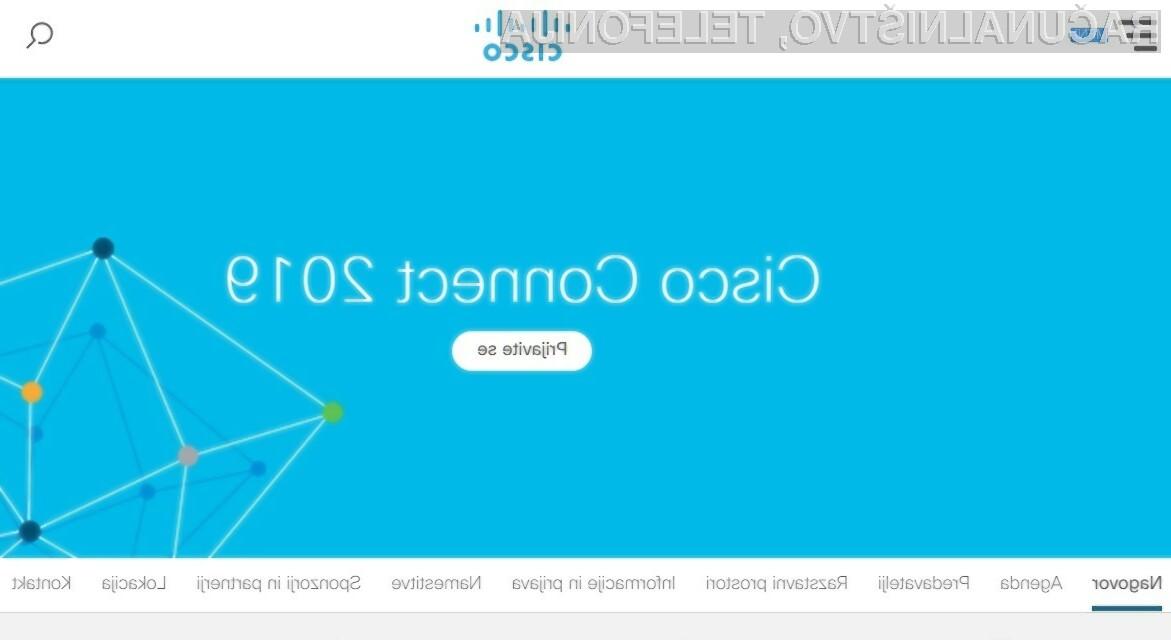 Cisco Connect 2019: evolucija računalniških omrežij