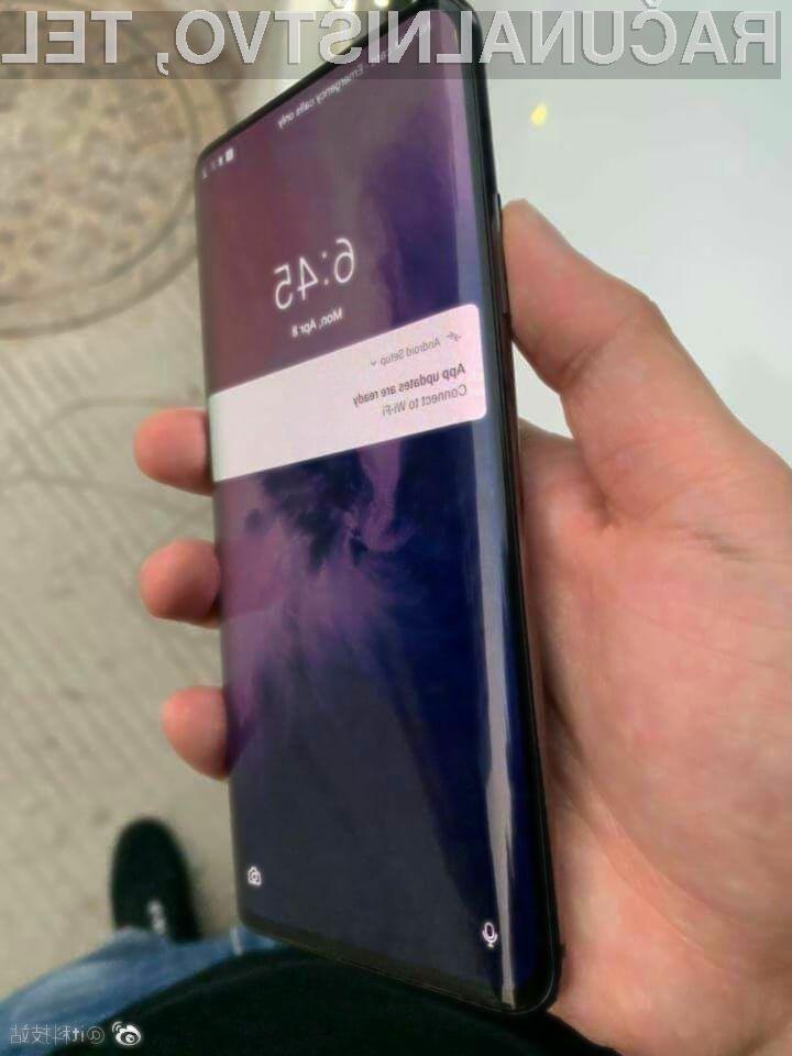 Pametni mobilni telefon OnePlus 7 Pro bo zlahka prepričal tudi najzahtevnejše.
