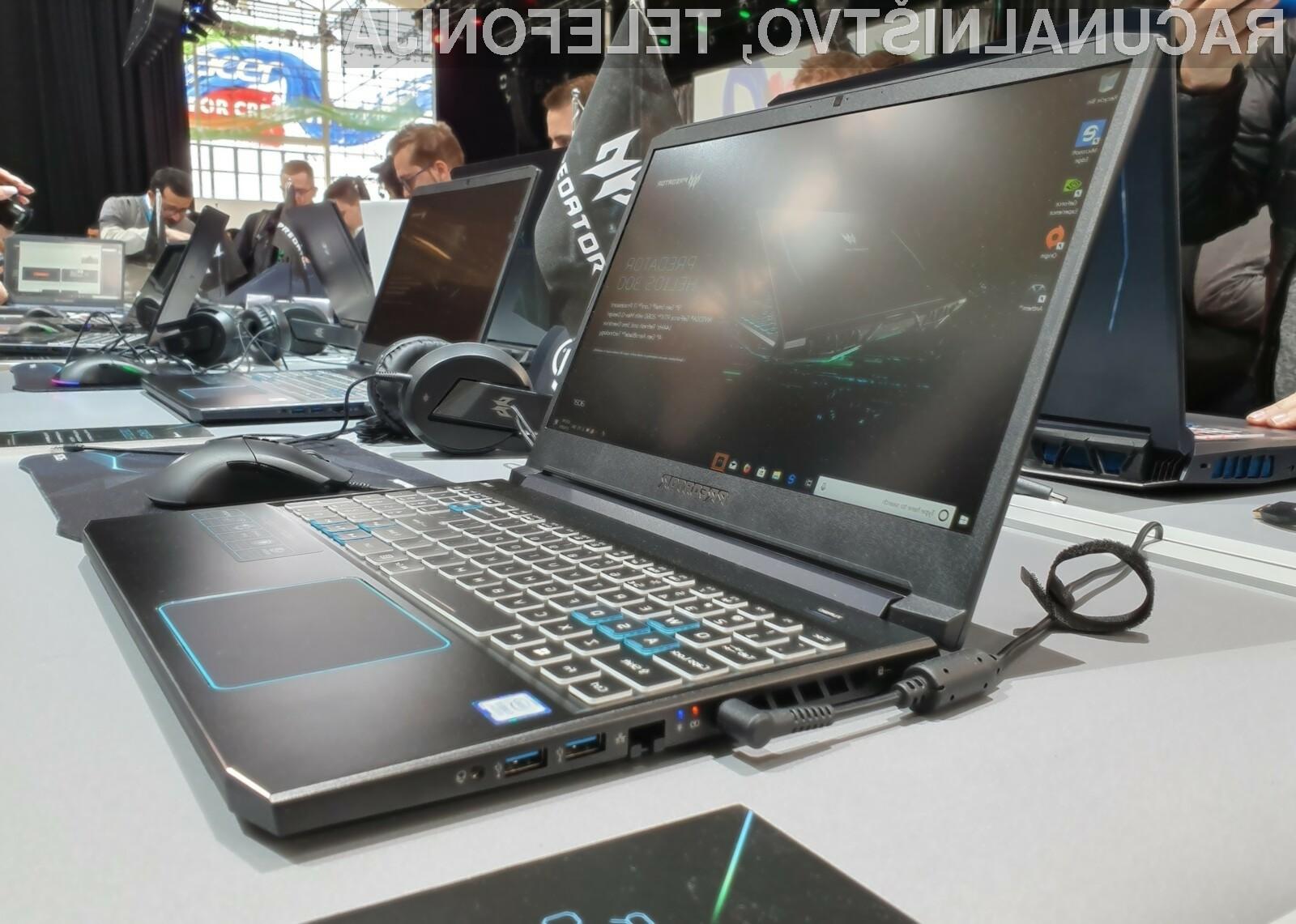 Novi prenosnik za ljubitelje iger Acer Predator Helios 700 je resnično nekaj posebnega.