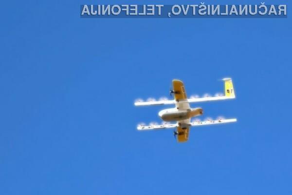 Kupci so nad dostavnimi letečimi droni podjetja Google več kot navdušeni.