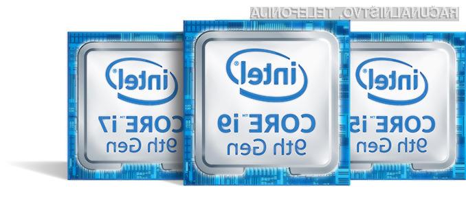 Procesorji Intel devete generacije navdušujejo v prav vseh pogledih.