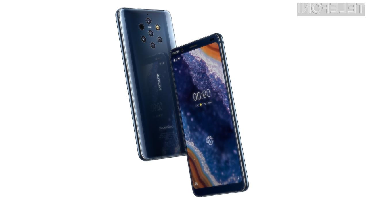 Za nakup telefona Nokia 9 PureView je v evropskem prostoru treba odšteti okoli 649 evrov.