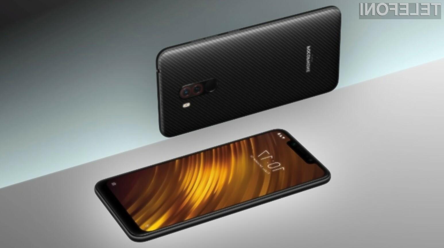 Pametni mobilni telefon Xiaomi Pocophone F1 bo z najnovejšo posodobitvijo močno pridobil na uporabnosti!