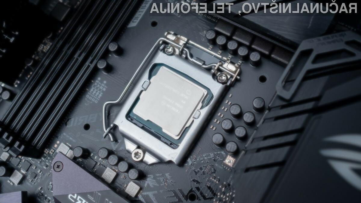 Novi procesorji Intel Core s sredicami Coffee Lake-T bodo pri delovanju porabili do največ 35 vatov električne moči.