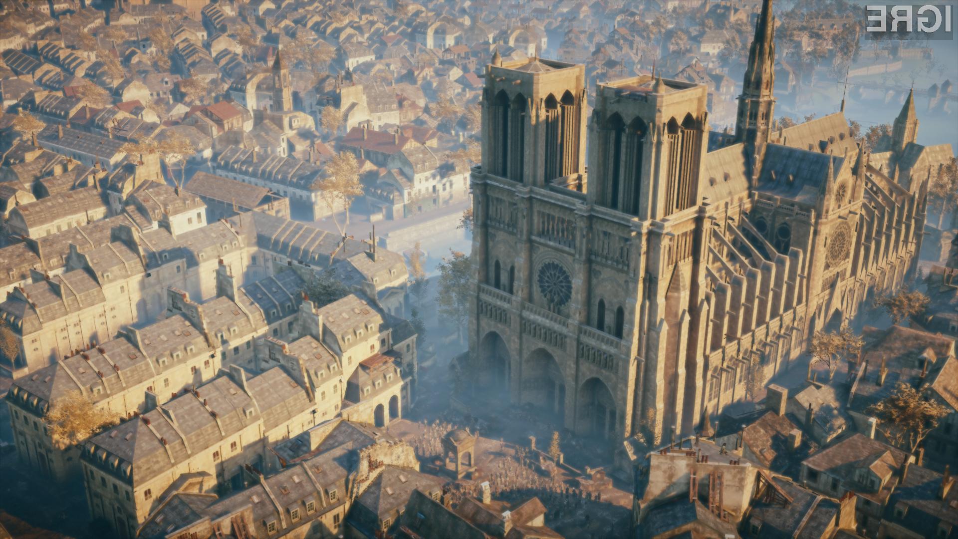 Ubisoft je znan po natančnih upodobitvah zgodovinske arhitekture.