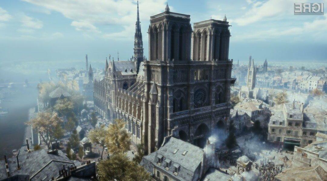 Gradnja virtualne katedrale je trajala kar dve leti.