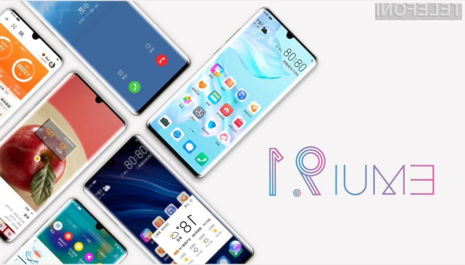 Novi mobilni operacijski sistem EMUI 9.1 bo skupno prejelo kar 49 mobilnih naprav Huawei.