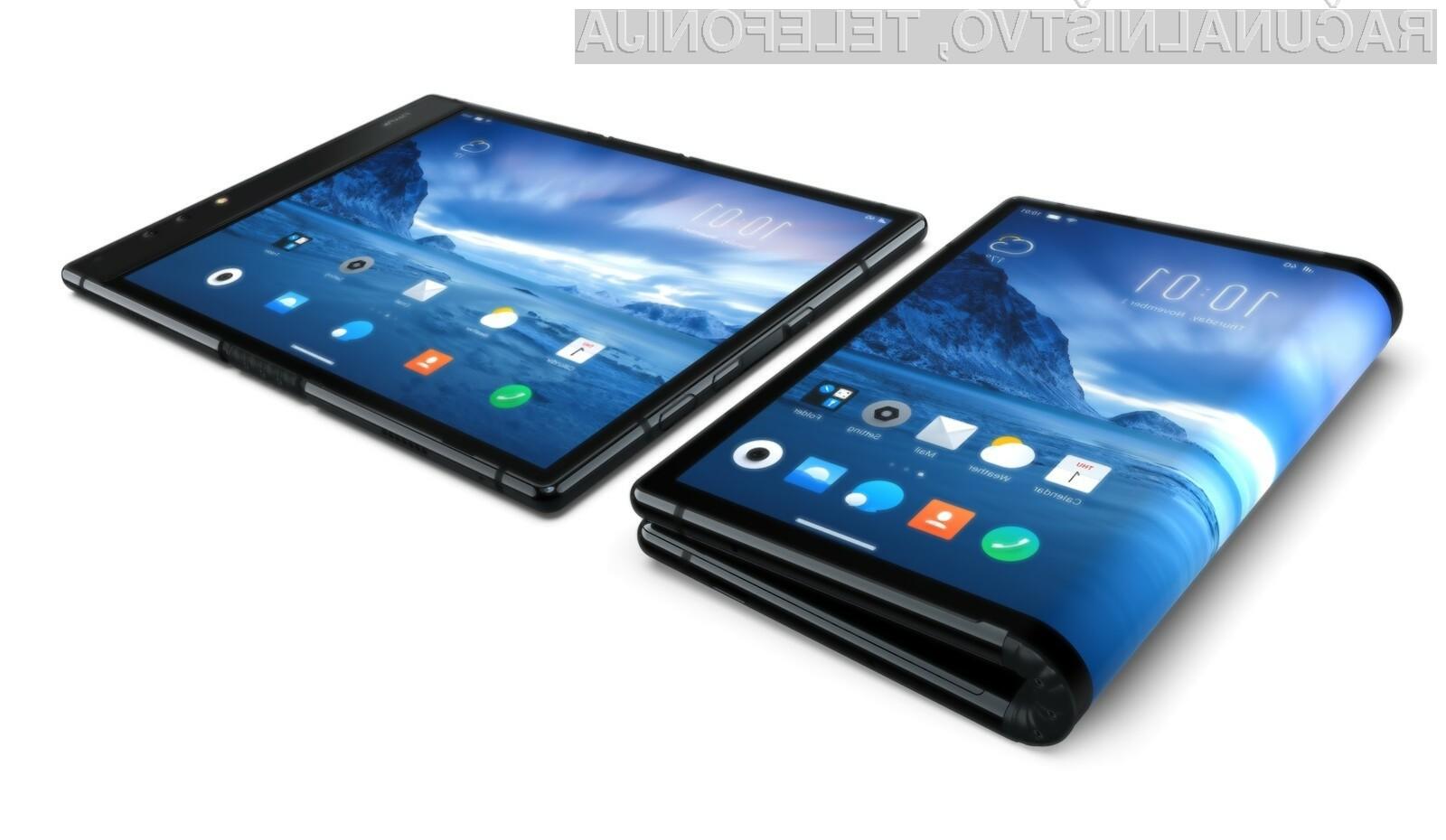 Kitajska podjetja so prevzela vodilni položaj tudi na področju prepogljivih pametnih mobilnih telefonov.