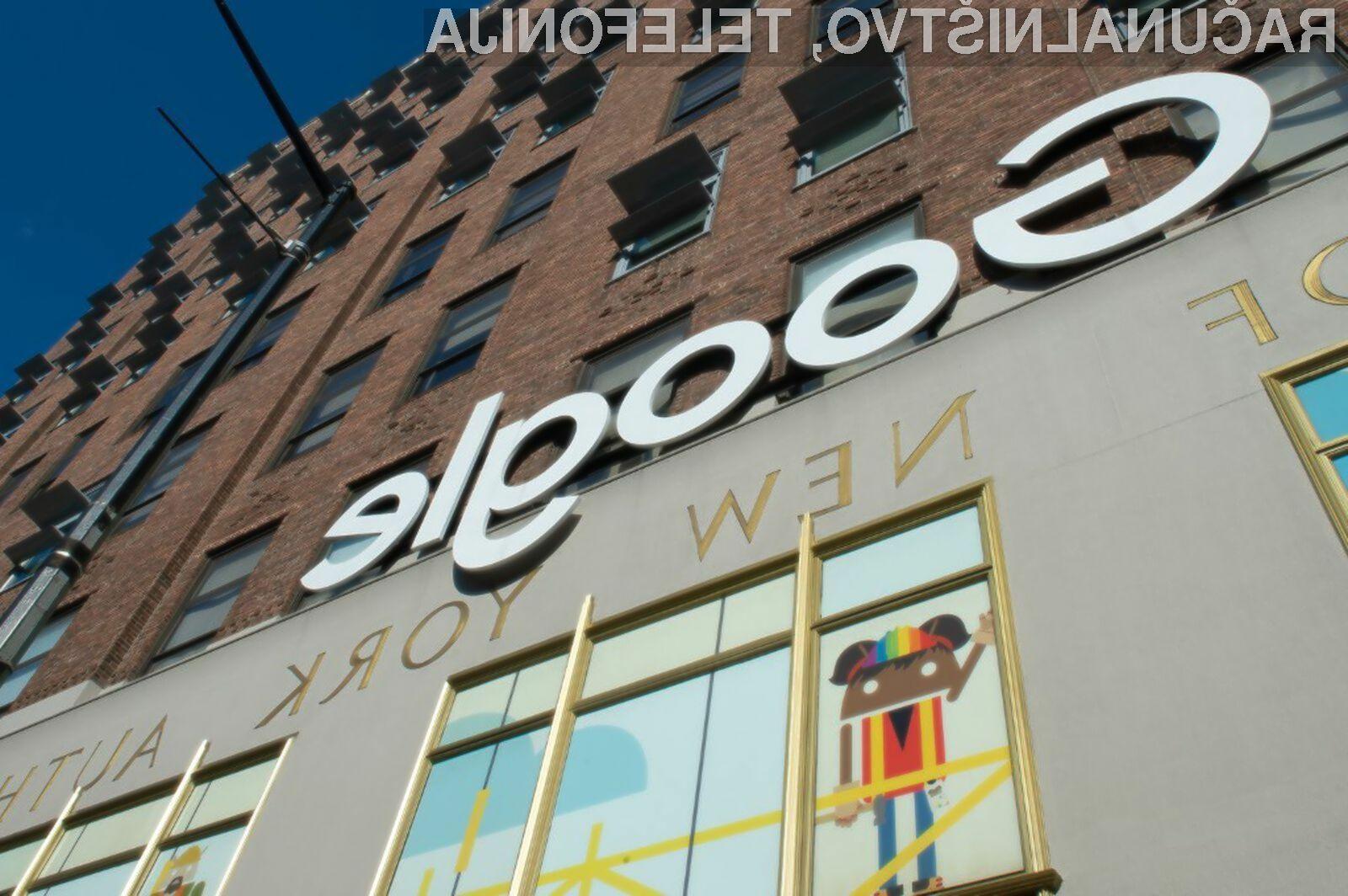 Podjetju Google v mestu New York grozi denarna kazen zaradi onesnaževanja okolja.