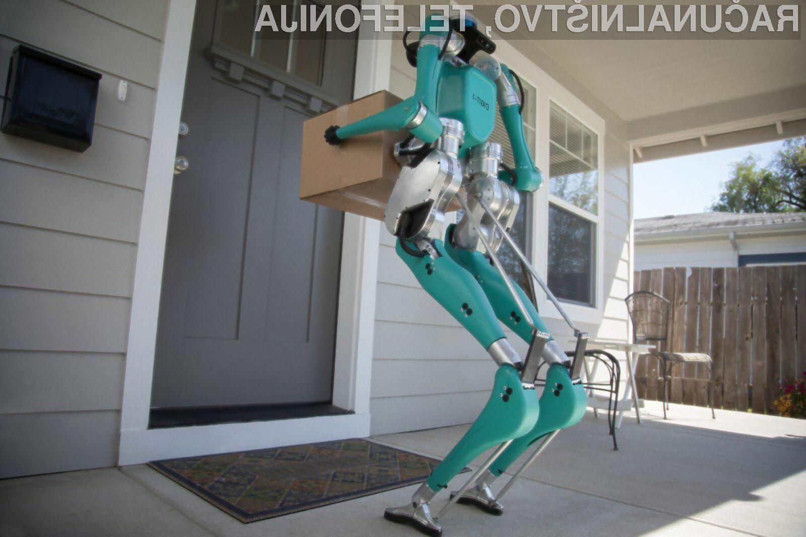 Ta robot nam bo olajšal prenašanje težkega tovora!