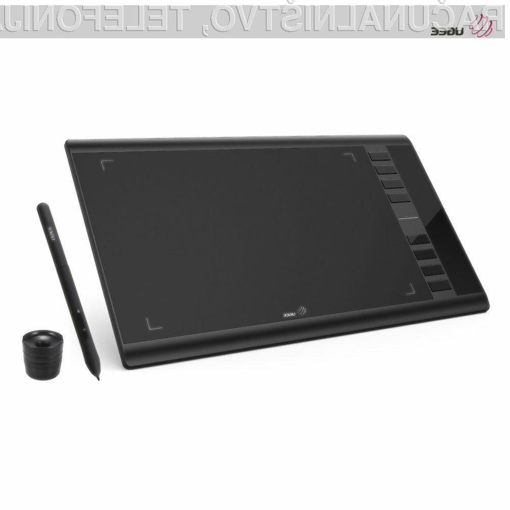 Digitalna risalna tablica Ugee M708 je lahko naša že za 36,99 evrov.