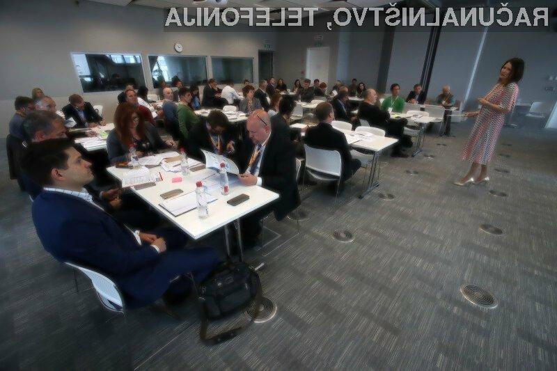 Fotoutrinek z 9. foruma na temo Energetika in okolje.