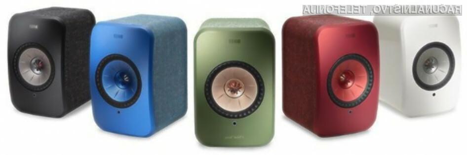 KEF LSX aktivni brezžični zvočniki