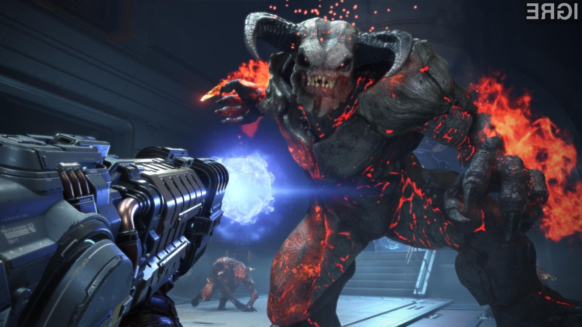 Osrednja atrakcija prireditve bo seveda Doom Eternal.