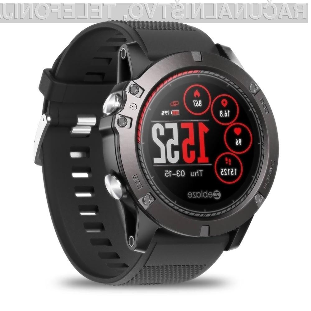Športna ročna ura Zeblaze VIBE 3 ECG Smart Sport Watch je lahko vaša že za 35,95 evrov.