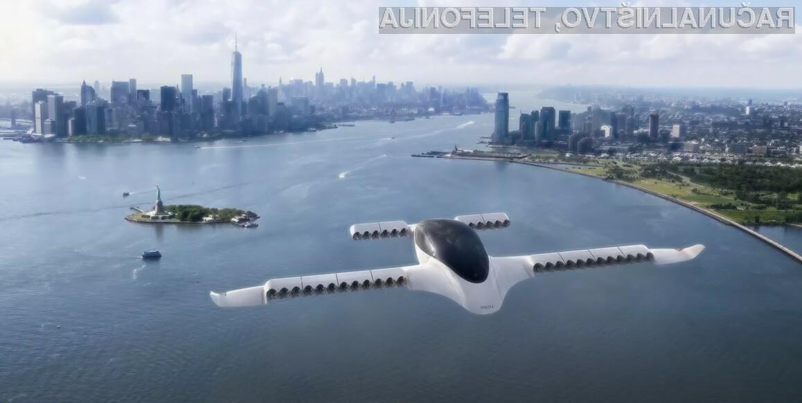 Leteči taksiji bi lahko že leta 2025 postali nekaj vsakdanjega.