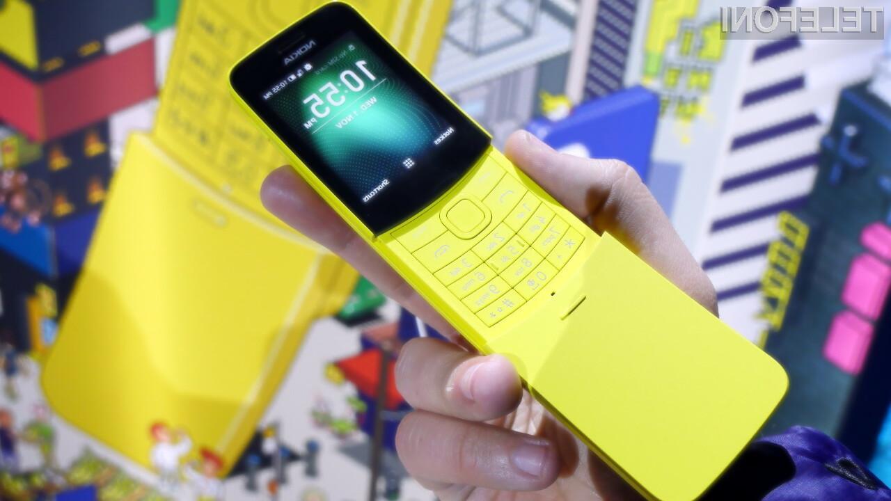 Na telefonu Nokia 8110 lahko odslej uporabljamo tudi aplikacijo WhatsApp.