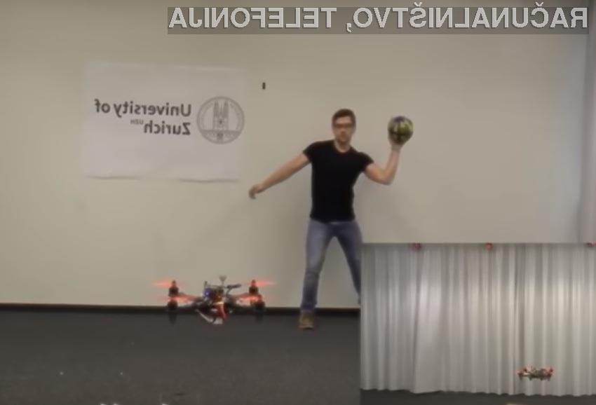 Novi sistem dronu omogoča, da se uspešno izogiba oviram, za ta namen pa uporablja računalniški vid.